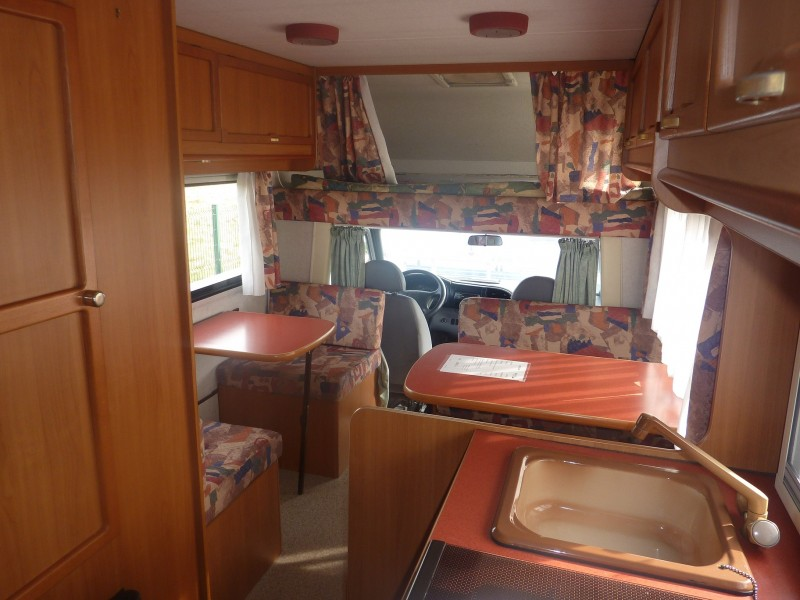 vente camping car d 39 occasion elnagh big marlin saint jean du cardonnay 76 rouen caravane. Black Bedroom Furniture Sets. Home Design Ideas