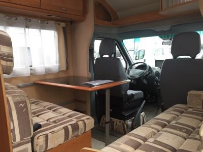 VENDS Camping-Car Profilé PILOTE PACIFIC 72 Rouen-St Jean du Cardonnay 76