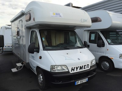 vends camping car capucine hymer camp c 594 rouen st jean du cardonnay 76 rouen caravane. Black Bedroom Furniture Sets. Home Design Ideas